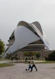 Palace of arts, AuditoriumPalau de las artes in the City of Ar Stock Image