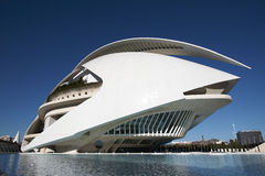 Palace of the Arts in Valencia, Spain Stock Photography