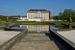 Palace Augustusburg Royalty Free Stock Photos