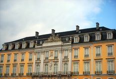 Palace of Augustusburg  in Bruhl Stock Images