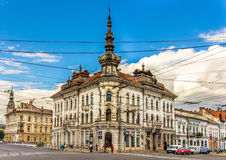 Palace of Babos in Cluj-Napoca Royalty Free Stock Photography