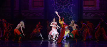 """Palace ball- ballet """"One Thousand and One Nights"""" Stock Photography"""