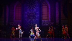 """At the palace ball- ballet """"One Thousand and One Nights"""" Stock Image"""