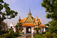 Palace in Bangkok. Ancient palace in Bangkok Thailand Royalty Free Stock Photo