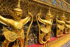 Palace in Bangkok. Ancient palace in Bangkok Thailand Royalty Free Stock Image
