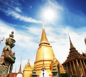 Palace in Bangkok Royalty Free Stock Photo
