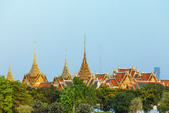 The palace is bangkok landmark , Thailand Stock Photos