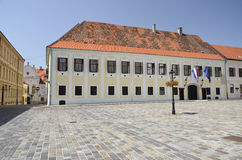 Palace of the Bano, Zagreb Stock Image