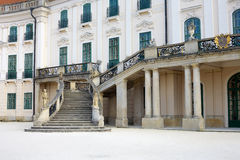 Palace with baroque Royalty Free Stock Images