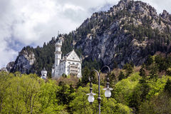Palace in Bavaria, Germany. Castle Neuschwanstein Stock Photo