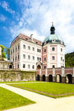 Palace of Becov nad Teplou royalty free stock image