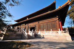 Palace in Beihai Park. Beihai (North Sea) Park is one of the most popular parks in the city of Beijing. Beihai Park has been a playground for emperors for 800 Stock Image