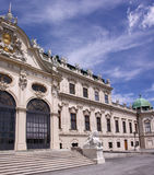 Palace Belvedere. Baroque Palace Belvedere in Vienna (Europe Royalty Free Stock Photo