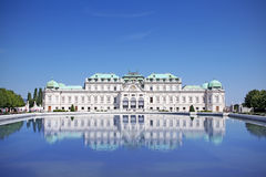 Palace Belvedere Stock Images