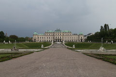 Palace Belvedere Gardens, Vienna Stock Images
