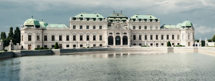 Palace Belvedere in Vienna Royalty Free Stock Photo