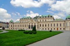 Palace Belvedere. Vienna. Austria stock images