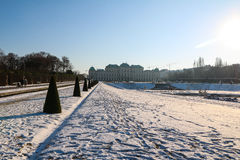 Palace Belvedere in Vienna Stock Image