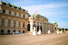 Palace Belvedere Vienna Stock Photography