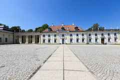 Palace   Bialystok. Poland. Photo Branicki Palace  1689-1771 , located in the city of Bialystok. Poland Royalty Free Stock Photo