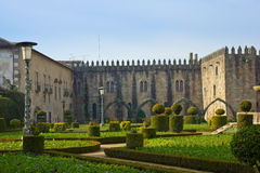 Palace of bishop, Braga, Portugal Stock Photos