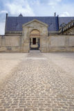 A palace of Bishop is in city Reims Royalty Free Stock Image