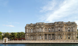 Palace on Bosphorus in Istanbul Turkey Stock Photo