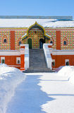 Palace of boyars in monastery royalty free stock photos