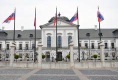 Palace in Bratislava, Slovakia, Europe Stock Photos