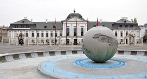 Palace in Bratislava, Slovakia, Europe Stock Photo