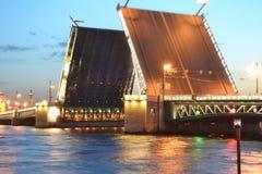 Palace Bridge at night Stock Photo
