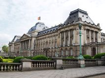 Palace in Brussels Royalty Free Stock Images