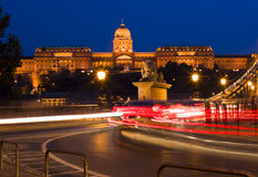 Palace in Budapest royalty free stock photos