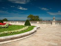 The palace of Budapest Royalty Free Stock Photography