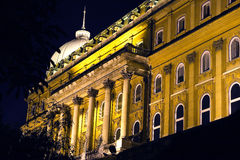 Palace in Budapest Stock Photo
