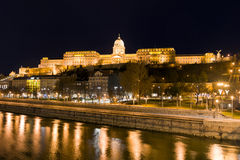Palace in Budapest Royalty Free Stock Photography