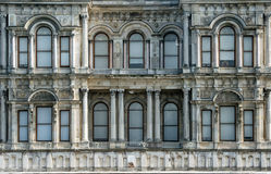 Palace building. Dolhabache palace istanbul turkey outside Stock Image