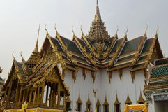 PALACE BUILDING IN曼谷泰国国王 免版税库存照片