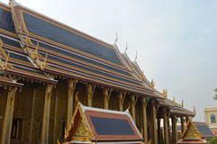 PALACE BUILDING IN曼谷泰国国王 免版税图库摄影