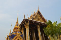 PALACE BUILDING IN曼谷泰国国王 库存照片