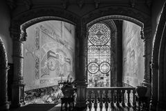 Palace of bussaco. Coimbra. Portugal royalty free stock photo