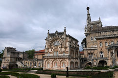 Palace of Bussaco in Portugal Stock Photo