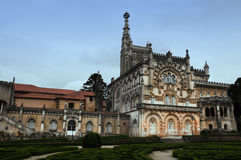 Palace of Bussaco in Portugal Stock Photos