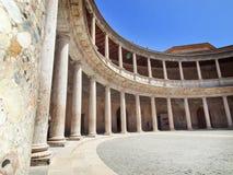 Palace of Carlos in Alhambra, Graada, Spain Stock Image
