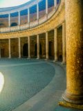 Renaissance construction in Granada, Andalusia stock photography