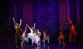"""Palace Carnival- ballet """"One Thousand and One Nights"""" Royalty Free Stock Photo"""