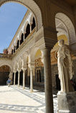 The Palace of the Casa de Pilatos, Sevilla, Spain Stock Image