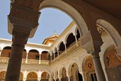 Palace of Casa de Pilatos, Seville, Spain Stock Images