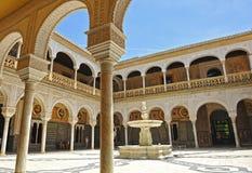 Palace of Casa de Pilatos, Seville, Spain Royalty Free Stock Photos