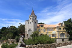 Palace of Cascais. In Portugal royalty free stock photo